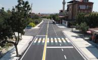 Denizli'de Şehit Er Yılmaz Bakan Caddesi'nde Üst Yapı Tamamlandı