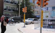 Karaman'da Trafik Güvenliği İçin Sinyalizasyon Çalışması