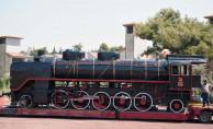 Tarihi Buharlı Lokomotif Kepez'de