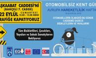 Ankara'da Otomobilsiz Kent Günü