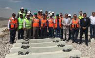 Apaydın Konya'da Hızlı Tren Gar ve Kayacık Lojistik Merkezini İnceledi
