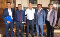 Bozüyük Belediye Başkanı Bakıcı TCDD 1. Bölge Müdürü Aslan'ı Ziyaret Etti