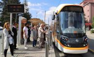 bEskişehirde Yeni Skoda Marka Tramvaylar Hizmete Başladı/b