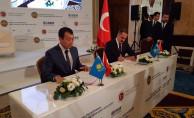 bTCDD Taşımacılık ile Kazakistan Demiryolları Arasında Stratejik İşbirliği Anlaşması İmzalandı/b