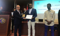 Apaydın, Sudan Demiryolu Personeli Eğitim Sertifika Törenine Katıldı