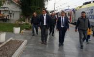 bBölge Müdürü Koçbay, Balıkesir Gar#039;da İncelemelerde Bulundu/b