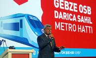 Gebze-Darıca Metrosu Tanıtıldı