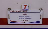 İzmir Mavi Treni Ankara Gar'a Geliyor