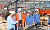 bRail Cargo Yönetimi TÜDEMSAŞı Ziyaret Etti/b
