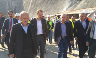 Bakan Turhan, Ankara-Sivas Hızlı Tren Hattında İncelemelerde Bulundu