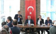 Başkan Toçoğlu, Minibüsçülerle Bir Araya Geldi
