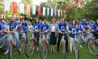 Gaziantep'te Bisiklet Yollarını Son Bir Yıl İçinde 20 Bin Kişi Kullandı