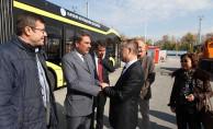İslam Kalkınma Bankası'ndan Kayseri Ulaşım A.Ş.'ye Ziyaret
