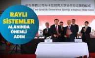 Karabük Üniversitesi ile Çin Demiryolu Şirketi Arasında İş Birliği
