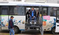 Özel Tasarım Otobüsler Engelli Sporcuların Hizmetinde
