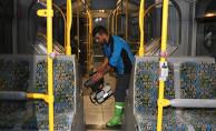 Toplu Taşıma Araçlarında Temizlik Çalışması