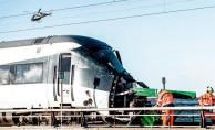 Danimarka'da Hızlı Tren Kazası!
