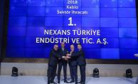 Nexans Türkiye, Bu Yıl da Kablo Sektörünün İhracat Şampiyonu Oldu