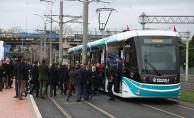 Sekapark-Plaj Yolu Tramvay Seferleri Başladı