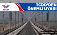 TCDD'den Kütahya-Balıkesir Demiryolunda Yüksek Gerilim Uyarısı