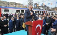 Turizm Bakanı Ersoy'un Tren Yolculuğu