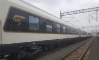 bAzerbaycan Treni Marmaraydan Geçiş Yaptı/b