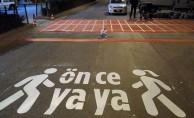 """Karaman'da """"Yaya Öncelikli Trafik Yılı"""" Çalışması"""