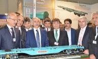 Eurasia Rail Fuarı'nda Milli Yük Vagonuna Yoğun İlgi