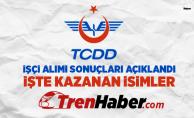 TCDD 356 Personel Alımı Sonuçları Açıklandı