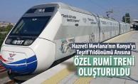Özel Rumi Treni Oluşturuldu