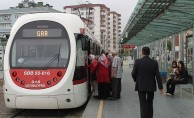 Samsun'da Tramvay ve Otobüsler Ücretsiz