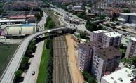 Akçaray Tramvayı için  alt geçit çalışmaları başladı