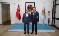 TCDD Genel Müdür Uygun'dan Çankırı Belediye Başkanı Esen'e Ziyaret