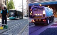 Tramvay Hattı Her Gün Temizleniyor