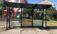 Sakarya'da Otobüs Durakları Temizlendi