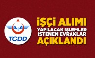 TCDD Demiryolu Hattı Bakım Onarımcısı Alım İlanı