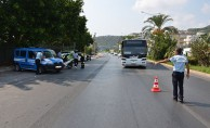 Alanya'da halk otobüsleri ve servisler denetlendi
