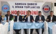 Bölgesel Teşkilat Toplantıları Samsun'dan başladı