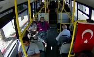 Karaman'da Belediye Otobüslerine Güvenlik Kamerası Takıldı
