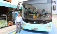 Manisa'da İlçe Otobüsleri Yeni Yerinde Hizmet Veriyor