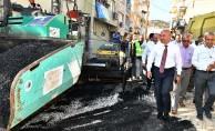 Yamanlar'da Asfalt Çalışmaları Başladı