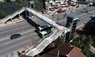 Çetin Emeç Üst Geçit Köprüsü'nde Sona Yaklaşılıyor