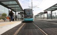Akçaray tramvay hattının uzunluğu 20 kilometreye çıktı