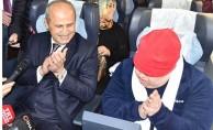 Özel Yolcular Ankara Garı'ndan Uğurlandı
