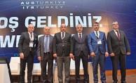 TCDD AUS ZİRVESİNE KATILDI