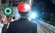 Marmaray'dan 100. Yük Treni Geçti