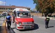 Eskişehir'de Otobüs ve Dolmuşlarda Covid-19 Denetimleri Sıklaştı