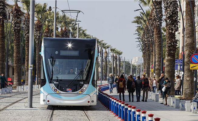 izmir 64 yıl sonra yeniden tramvay konak karşıyaka