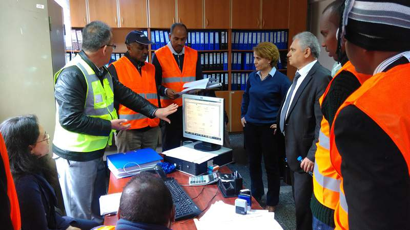 Cibuti ve Etiyopya Demiryolu çalışanları tcdd nin konuğu oldu