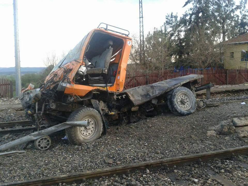Adana demiryolu kaza hacıkırı tcdd unimog trenhaber